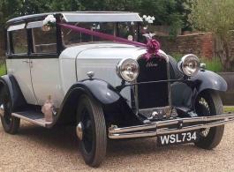 Vintage wedding car hire in Milton Keynes